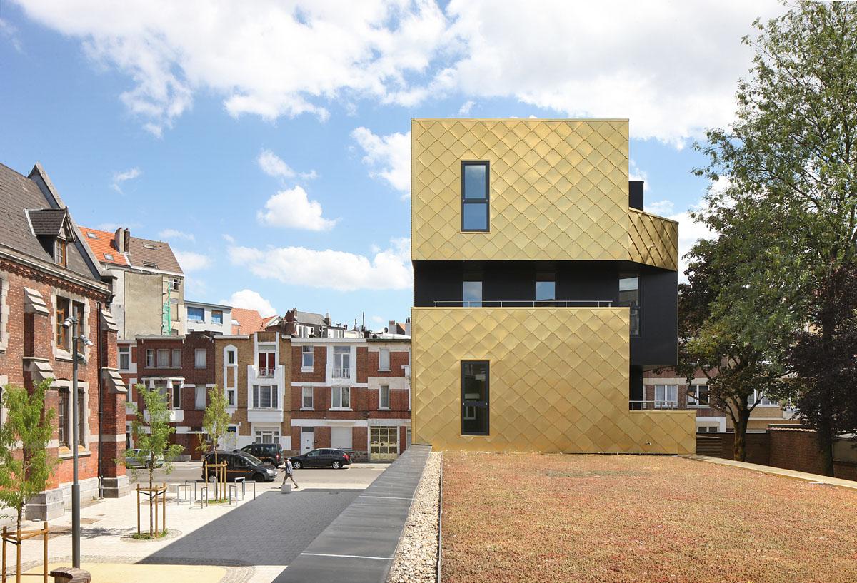 la maison de quartier antoine le journal de l architecte